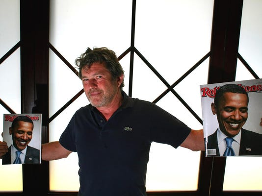 Jann Wenner, chairman of Wenner Media and founder of Rolling Stone magazine, in his Manhattan office, August 5, 2008.