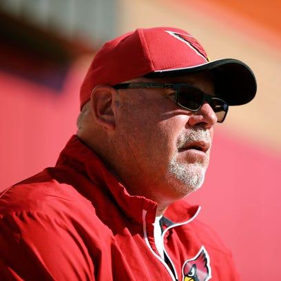 Jun 1, 2015: Arizona Cardinals head coach Bruce Arians