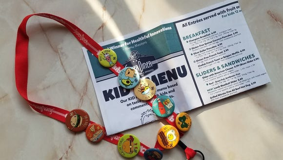 Children who join the Silver Diner Kids Club can bring