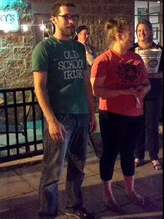 Danny and Jessica Barry participate in the ALS Ice Bucket Challenge. Click the link in the blog to see a video.