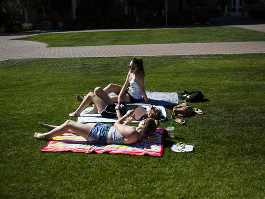 Arizona State University students took advantage of