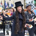 """Singer Boy George of Culture Club performs on NBC's """"Today"""" show at Rockefeller Plaza on Thursday, July 2, 2015, in New York. (Photo by Greg Allen/Invision/AP)"""