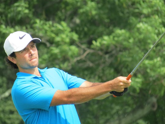 Amateur Thomas La Morte shares the first-round lead
