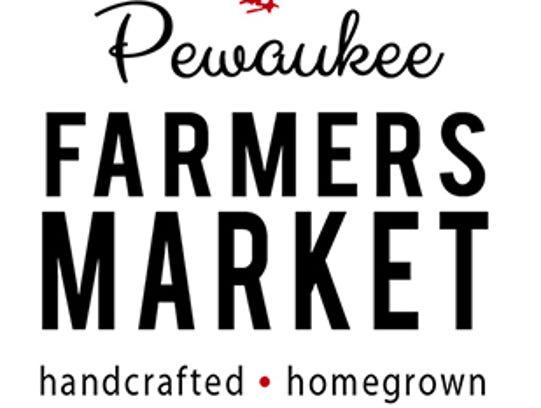 The Pewaukee Farmers Market logo.