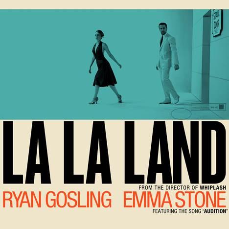 The La La Land poster.