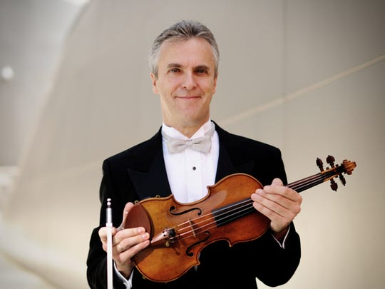 Concertmaster Martin Chalifour will perform at the Nevada Chamber Music Festival in late December.