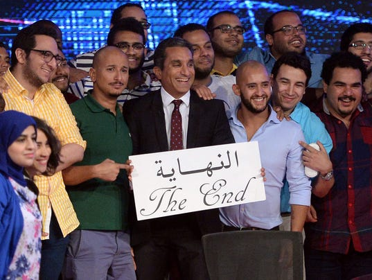 Egypt satire Bassem Youssef