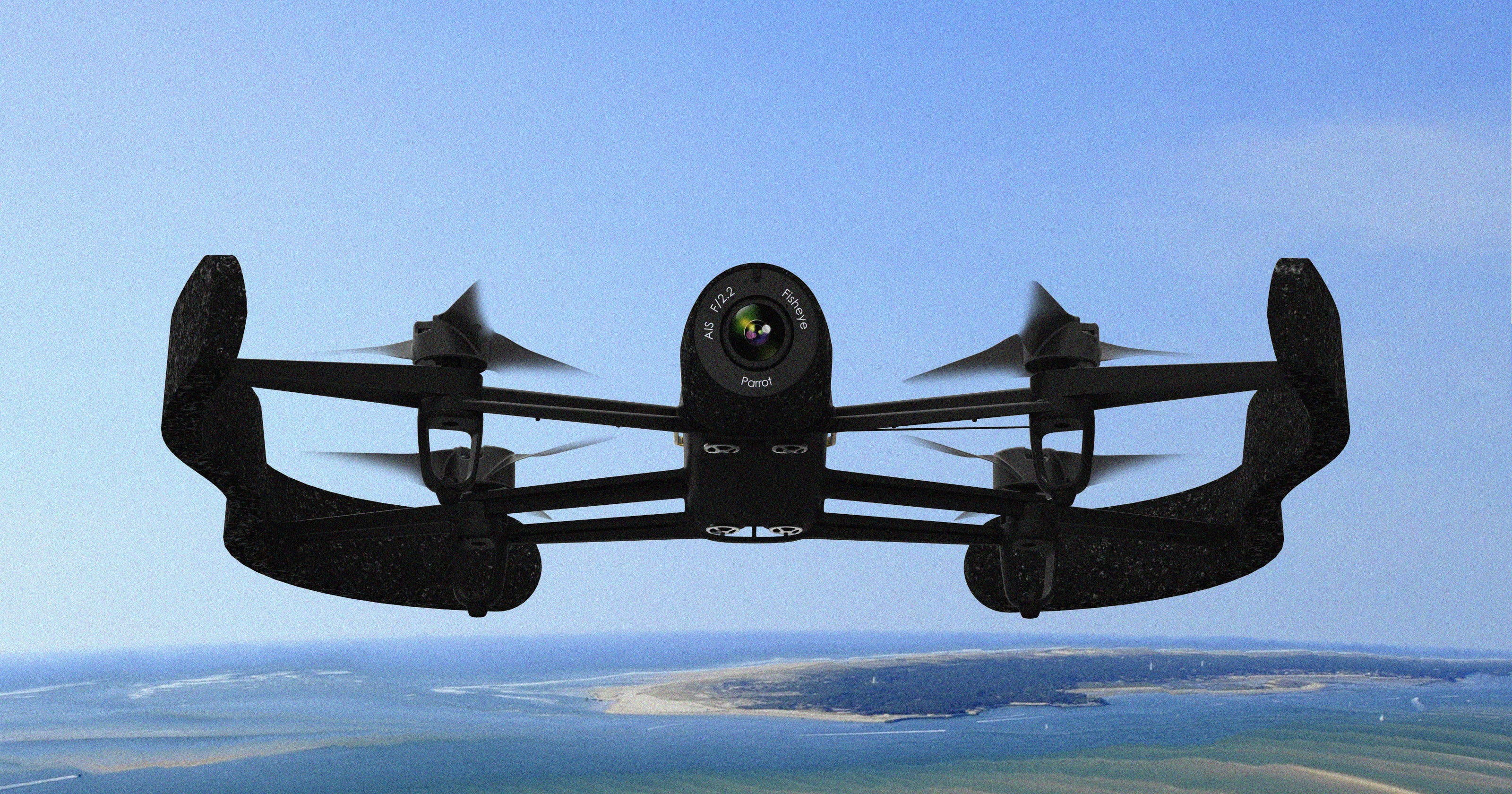 Parrot's new Bebop drone takes flight with HD video