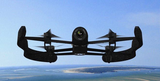 Parrot's new Bebop drone.