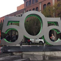 505 sculpture unveiled, a view inside downtown Nashville's tallest residential tower
