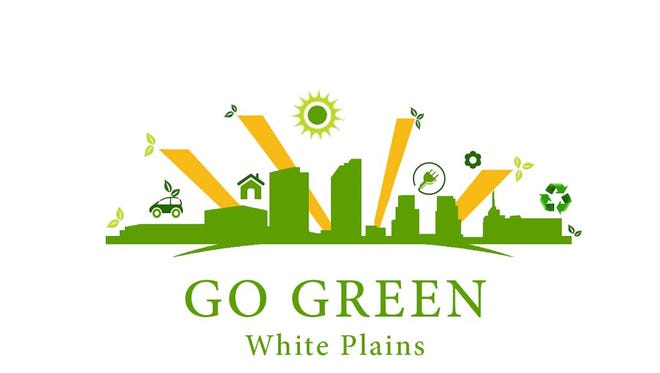 New logo for White Plains ÒGo GreenÓ web page.