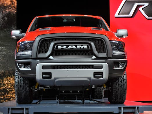 Ram Unveils New Rebel Pickup At Detroit Auto Show