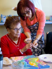 Parkinson's patient, Maria Flores, 76, of El Mirage,