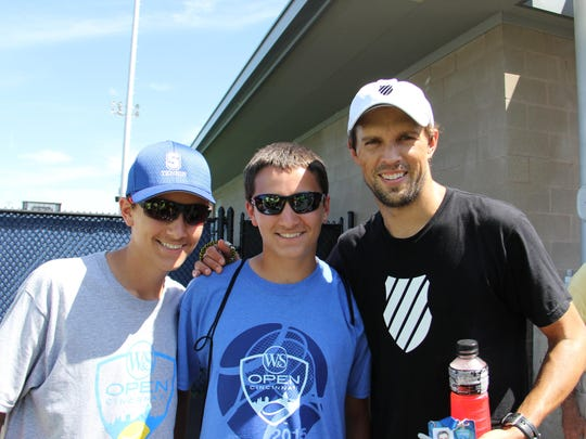 The Sweet twins got to meet one half of the famous Bryan brothers, Mike Bryan, during the recent Western & Southern Open in Cincinnati.