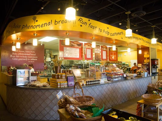 Great Harvest Bread Co. counter