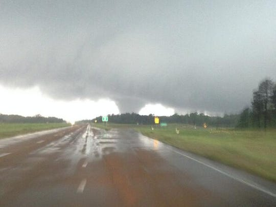 Multiple tornadoes ripped through Winston County and the Louisville area.