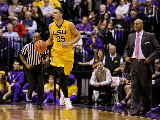 NCAA Basketball: Arkansas at Louisiana State