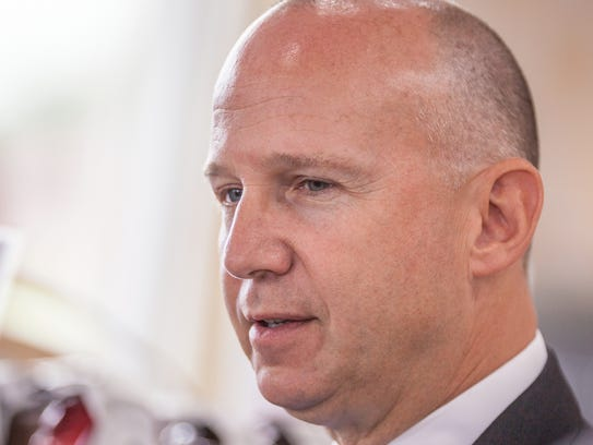 Delaware Gov. Jack Markell, a Democrat, discussed economic