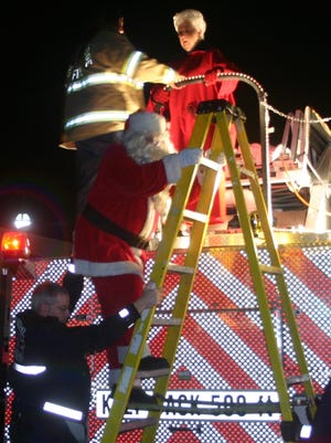 Santa and Mr. Claus will meet with children in front of the Sun Theatre after the parade on Friday, Dec. 5.