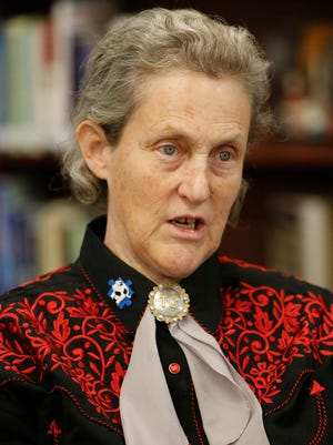 Autism expert Temple Grandin spoke to a sold out crowd Friday night at Marian University in Fond du Lac. Her own story from nonverbal toddler to leader in the livestock handling industry is captured in an HBO movie starring Claire Danes.