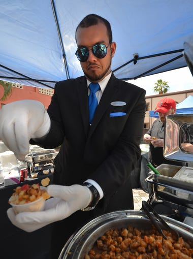 Hyatt House food and beverage manager Anthony Vento