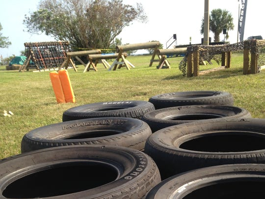 This ninja-warrior-style obstacle course is one of the main features of the 2017 Indian River Festival in downtown Titusville.