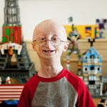 """Sam Berns is shown in a scene from HBO's """"Life According to Sam."""""""