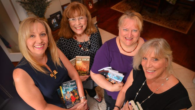 Brevard's local romance writers Kristen Painter, Leigh Duncan, Fiona Roarke and Roxanne St. Claire are hosting a day-long class on indie publishing.