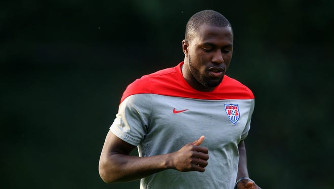 Jozy Altidore says he is healthy and ready to lead the U.S. attack next month in World Cup qualifiers vs. Trinidad and Tobago and Mexico.