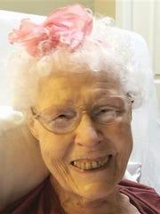 """Zora """"Polly"""" Palermini, 88"""