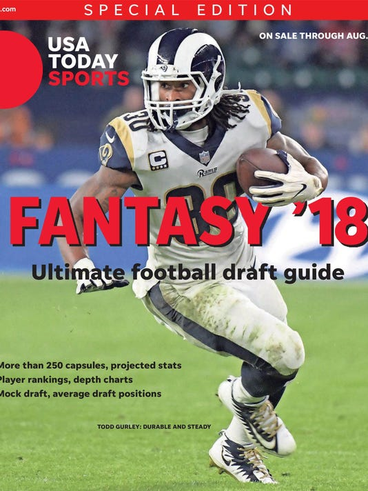 Fantasy Football Top 200 Overall Rankings For 2018