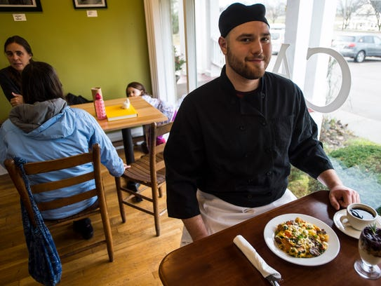 Chef Jonathan Davis offers everything from muffins