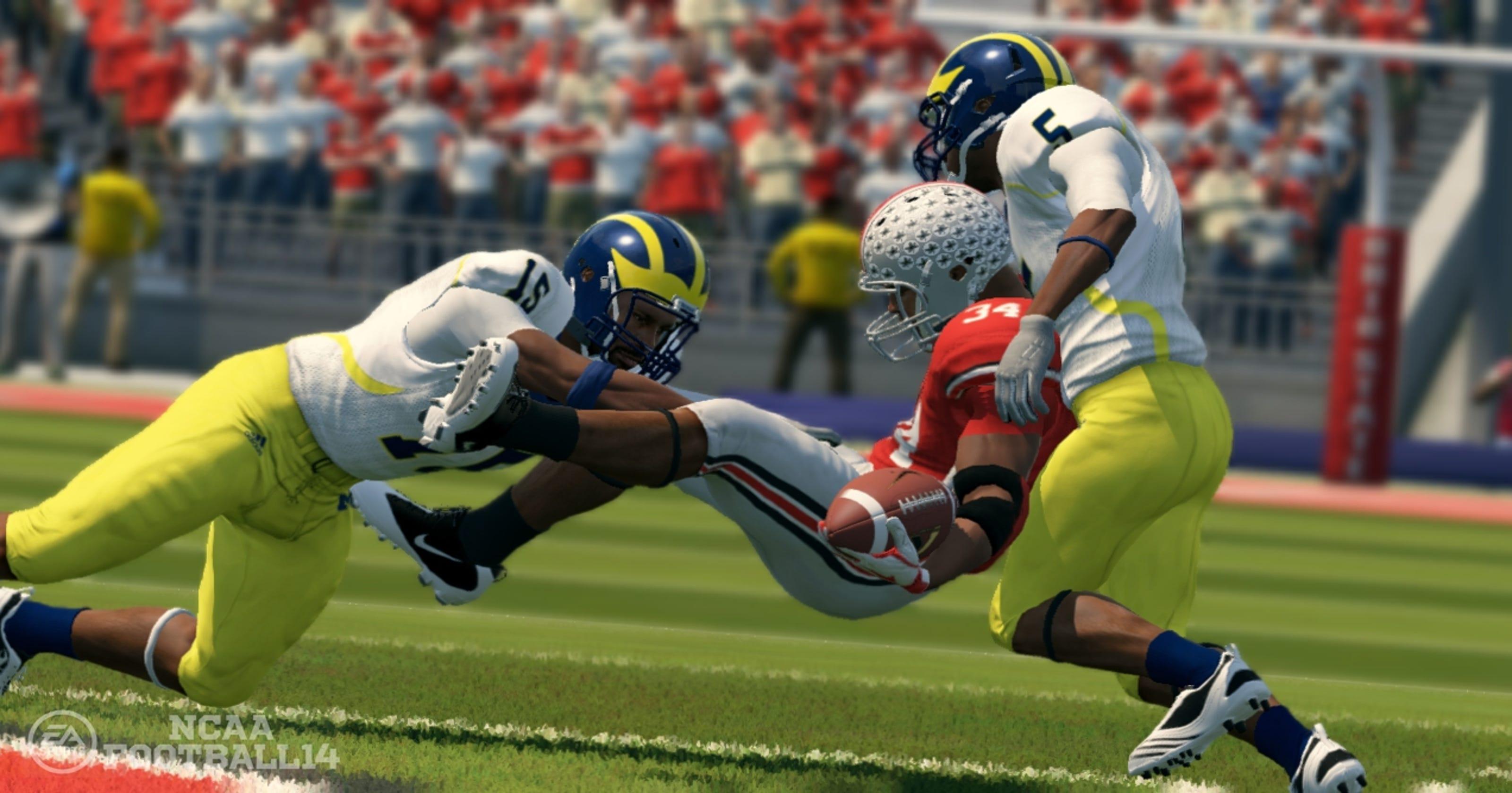 'NCAA Football 14' tackles July video game sales mark
