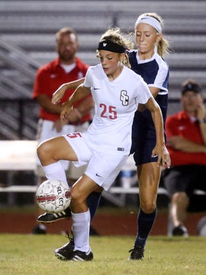 Stewarts Creek's Delaney Mitchell scored two goals and added an assist in a 5-4 win over Smyrna Thursday.