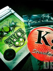 Spice and K2 are popular synthetic cannabinoids and