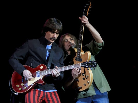 The Fab Four performs at Tuacahn Amphitheater in 2013.