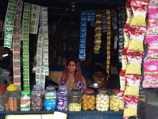 Meera Bai, a Pakistani Hindu immigrant in New Delhi,