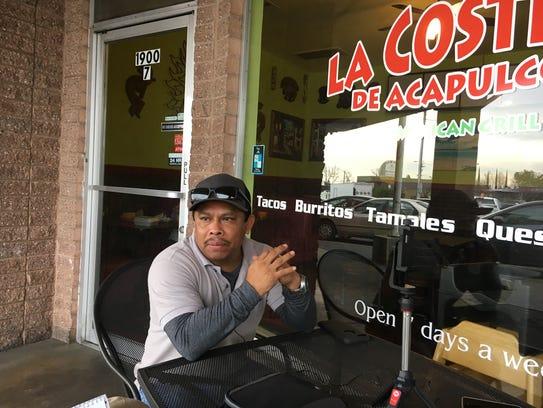 Anastasio Ramirez, who owns La Costena De Acapulco
