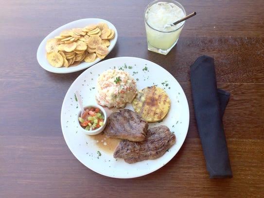 The Brazililan steak combo at Carvalho's Brazilian