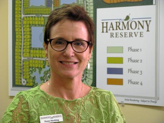 Karen Mechling, lifestyle director at Harmony Reserve,
