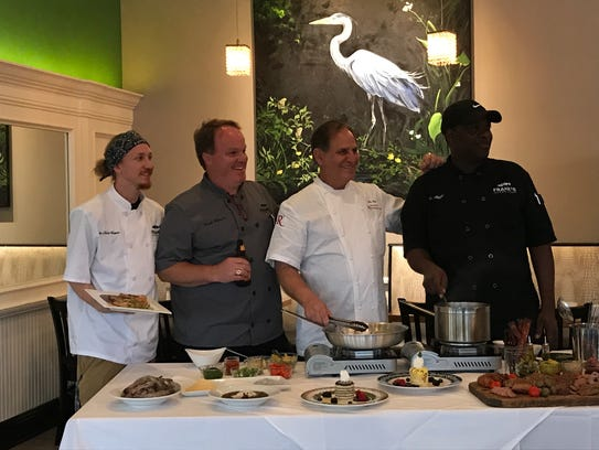 Sous Chef Van Murff, Frank Harris IV, Chef John Folse,