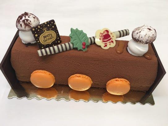 Buche de Noel at Sook Pastry