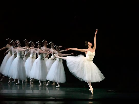 Devon Tesucher in the American Ballet Theatre production