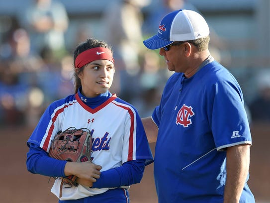 Neshoba Central head coach Trae Embry talks Tenly Grisham