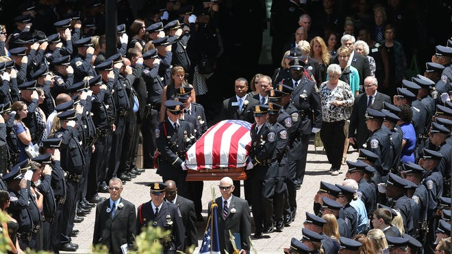 Funeral services for IMPD officer Perry Renn
