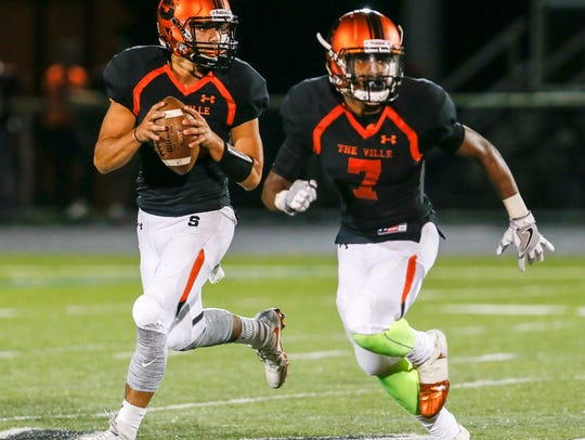 North Plainfield at Somerville football on September