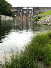The Duck River flows from the tailwaters of the Normandy Dam.
