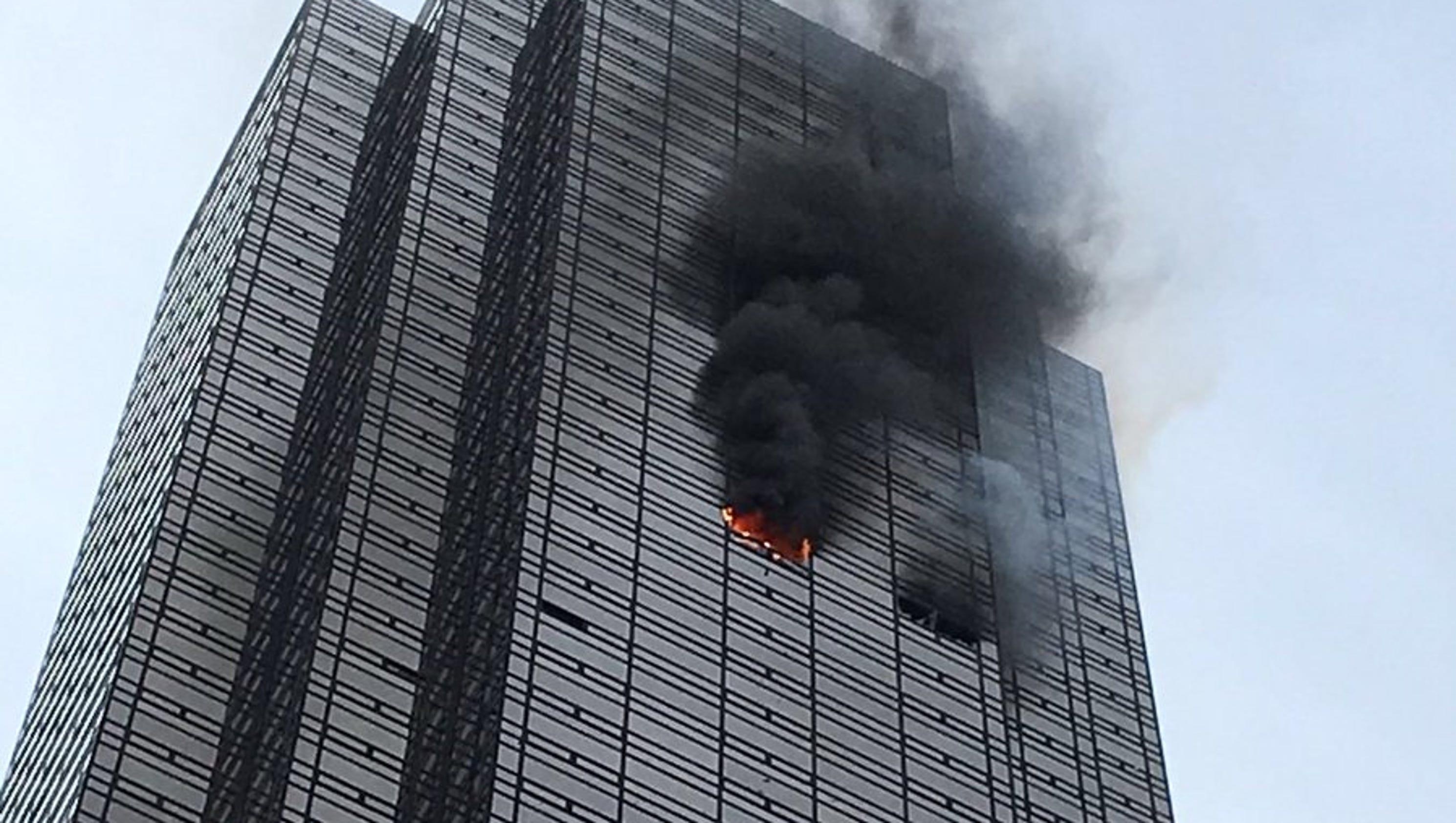 Trump Hotel New York Fire