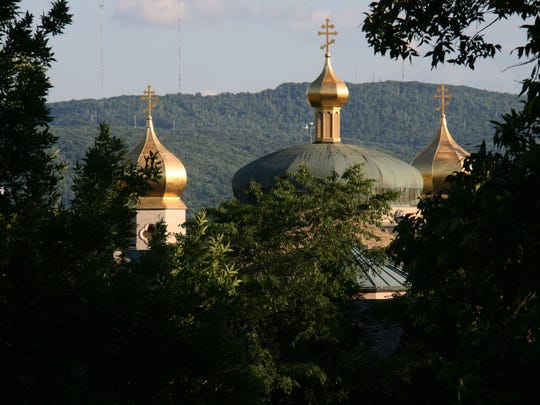 St. John's Ukrainian Orthodox Church is one of this area's most familiar and recognizable sights.