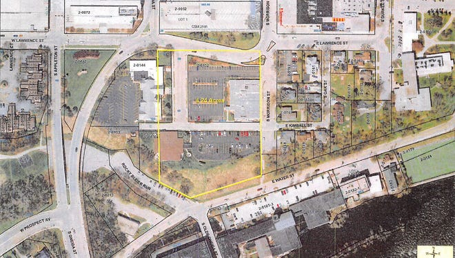 U.S. Venture will build its headquarters on a four-acre site south of the Soldiers Square parking ramp in downtown Appleton.